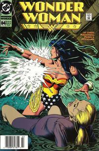 Cover Thumbnail for Wonder Woman (DC, 1987 series) #84 [Newsstand]