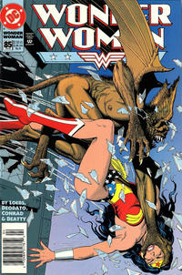 Cover Thumbnail for Wonder Woman (DC, 1987 series) #85 [Newsstand]