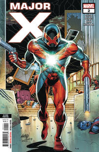 Cover Thumbnail for Major X (Marvel, 2019 series) #2 [Second Printing - Rob Liefeld]