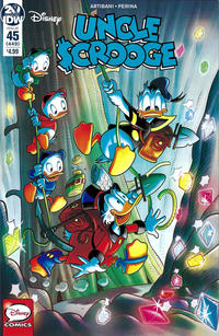 Cover Thumbnail for Uncle Scrooge (IDW, 2015 series) #45 / 449