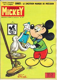 Cover Thumbnail for Le Journal de Mickey (Disney Hachette Presse, 1952 series) #577
