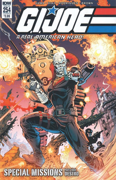 Cover for G.I. Joe: A Real American Hero (IDW, 2010 series) #254 [Cover A - Marcelo Ferreira]