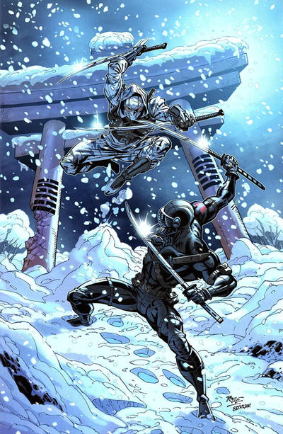 Cover for G.I. Joe: A Real American Hero (IDW, 2010 series) #250 [Cover RE - Unknown Comics Exclusive - Elias Chatzoudis]