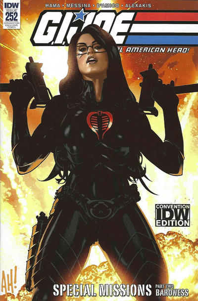 Cover for G.I. Joe: A Real American Hero (IDW, 2010 series) #252 [Cover RE - KRS Comics Exclusive - Warren Louw Virgin Art]