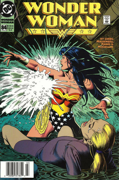 Cover for Wonder Woman (DC, 1987 series) #84 [Direct Sales]