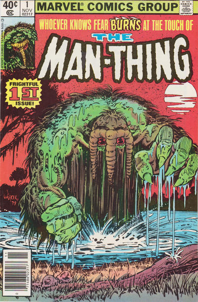 Cover for Man-Thing (Marvel, 1979 series) #1 [Direct]