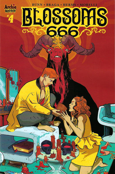 Cover for Blossoms: 666 (Archie, 2019 series) #4 [Cover A - Laura Braga]