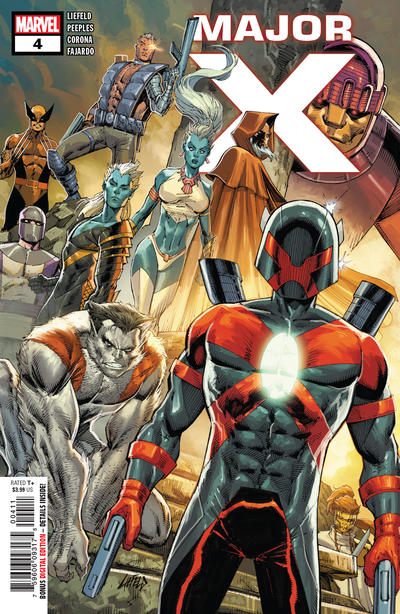 Cover for Major X (Marvel, 2019 series) #4