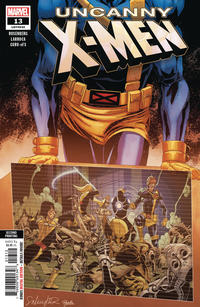 Cover for Uncanny X-Men (Marvel, 2019 series) #13 (632) [Scott Williams 1:50 Incentive Cover]