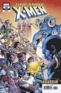 "Cover Thumbnail for Uncanny X-Men (Marvel, 2019 series) #16 (635) [Will Sliney ""Asgardian"" Cover]"