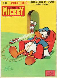 Cover Thumbnail for Le Journal de Mickey (Hachette, 1952 series) #605