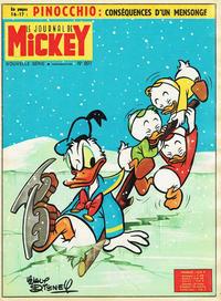 Cover Thumbnail for Le Journal de Mickey (Disney Hachette Presse, 1952 series) #607