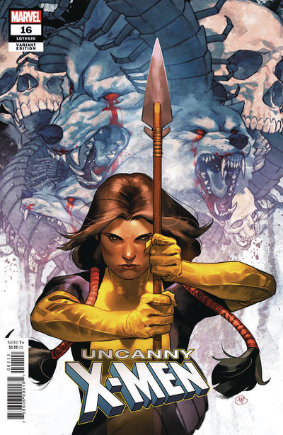 "Cover for Uncanny X-Men (Marvel, 2019 series) #16 (635) [Will Sliney ""Asgardian"" Cover]"