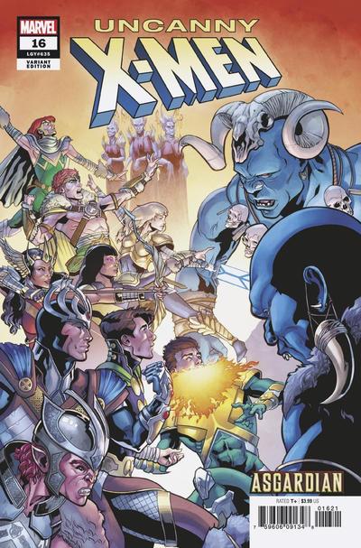 Cover for Uncanny X-Men (Marvel, 2019 series) #16 (635) [Salvador Larroca Cover]