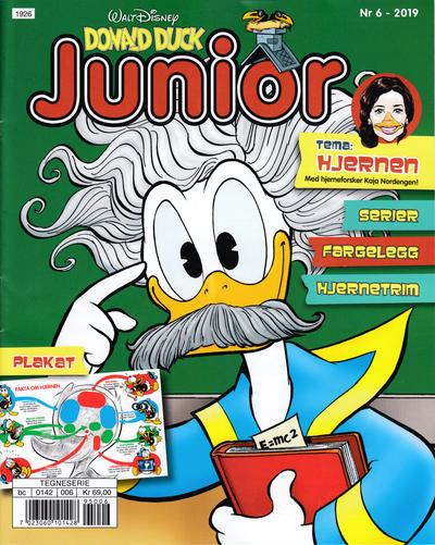 Cover for Donald Duck Junior (Hjemmet / Egmont, 2018 series) #6/2019