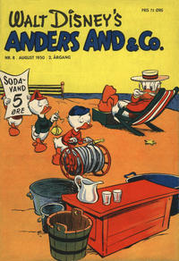 Cover Thumbnail for Anders And & Co. (Egmont, 1949 series) #8/1950