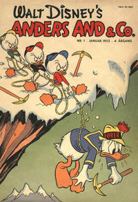 Cover Thumbnail for Anders And & Co. (Egmont, 1949 series) #1/1952