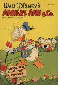 Cover Thumbnail for Anders And & Co. (Egmont, 1949 series) #4/1952