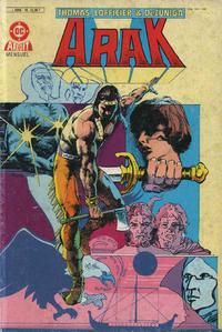 Cover Thumbnail for Arak (Arédit-Artima, 1986 series) #10
