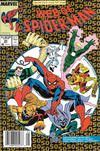 Cover for Web of Spider-Man (Marvel, 1985 series) #50 [Newsstand]
