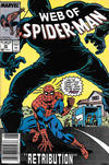 Cover for Web of Spider-Man (Marvel, 1985 series) #39 [Newsstand]