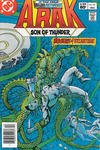 Cover for Arak / Son of Thunder (DC, 1981 series) #16 [Newsstand]
