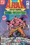 Cover for Arak / Son of Thunder (DC, 1981 series) #17 [Newsstand]