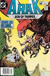 Cover for Arak / Son of Thunder (DC, 1981 series) #19 [Newsstand]