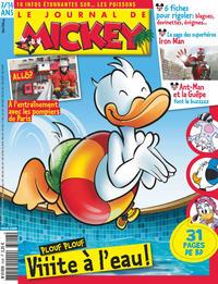 Cover Thumbnail for Le Journal de Mickey (Disney Hachette Presse, 1952 series) #3448