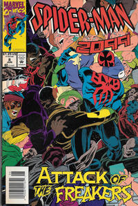 Cover Thumbnail for Spider-Man 2099 (Marvel, 1992 series) #8 [Newsstand]