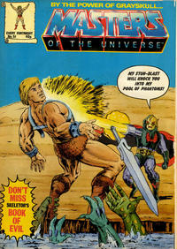 Cover Thumbnail for Masters of the Universe (Egmont UK, 1986 series) #51