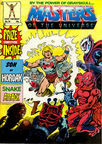 Cover Thumbnail for Masters of the Universe (Egmont UK, 1986 series) #36