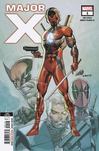 Cover Thumbnail for Major X (Marvel, 2019 series) #1 [Third Printing - Rob Liefeld]