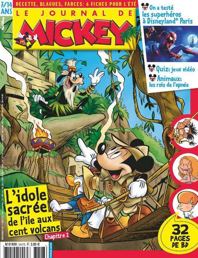 Cover for Le Journal de Mickey (Hachette, 1952 series) #3447