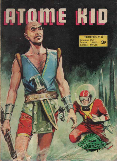 Cover for Atome Kid (Arédit-Artima, 1970 series) #29