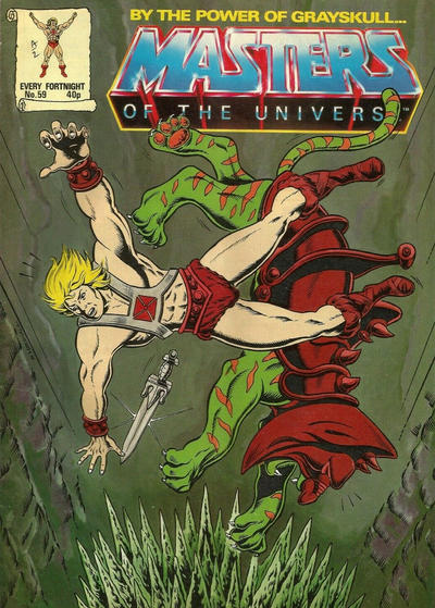 Cover for Masters of the Universe (Egmont UK, 1986 series) #59