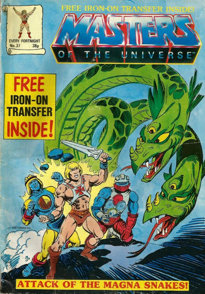 Cover for Masters of the Universe (Egmont UK, 1986 series) #37