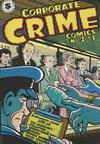 Cover for Corporate Crime (Kitchen Sink Press, 1977 series) #2