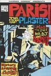Cover for Paris the Man of Plaster (Harrier, 1987 series) #1
