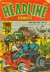 Cover for Headline Comics (Prize, 1943 series) #v9#3 (63)