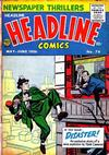 Cover for Headline Comics (Prize, 1943 series) #v11#4 (76)