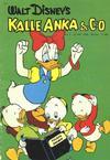 Cover for Kalle Anka & C:o (Hemmets Journal, 1957 series) #4/1958