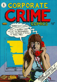 Cover Thumbnail for Corporate Crime (Kitchen Sink Press, 1977 series) #1 [First Printing]