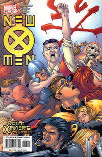 Cover for New X-Men (Marvel, 2001 series) #137 [Direct Edition]