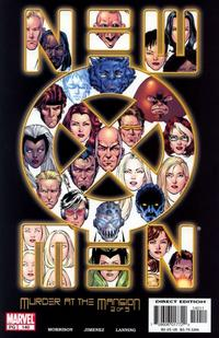Cover for New X-Men (Marvel, 2001 series) #140 [Direct Edition]