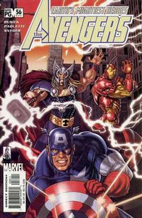 Cover Thumbnail for Avengers (Marvel, 1998 series) #56 (471) [Direct Edition]