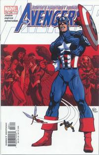 Cover Thumbnail for Avengers (Marvel, 1998 series) #58 (473) [Direct Edition]