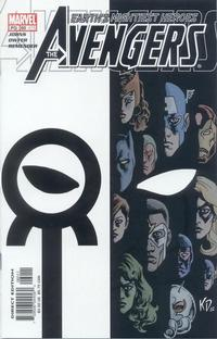 Cover Thumbnail for Avengers (Marvel, 1998 series) #60 (475) [Direct Edition]