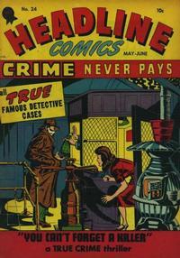Cover Thumbnail for Headline Comics (Prize, 1943 series) #v2#12 (24)