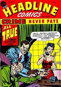 Cover Thumbnail for Headline Comics (Prize, 1943 series) #v3#1 (25)